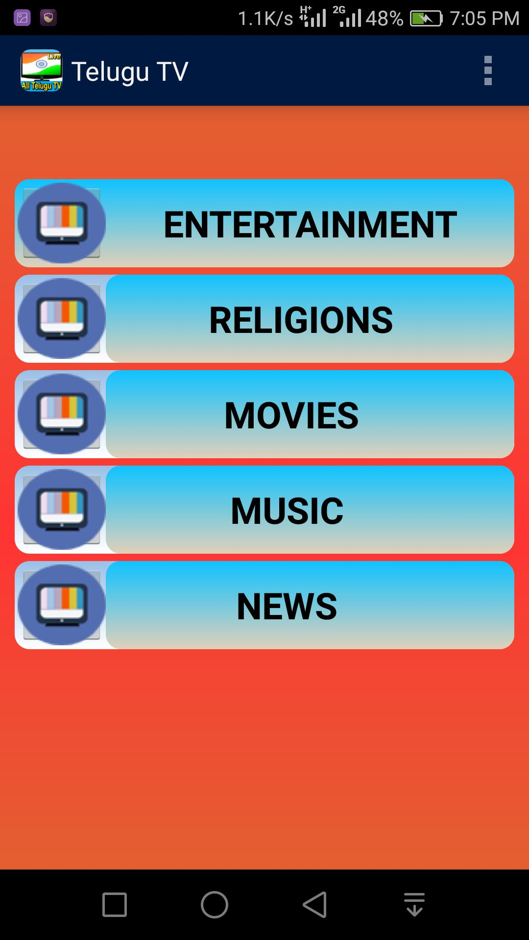 Telugu Live TV All Channels for Android - APK Download