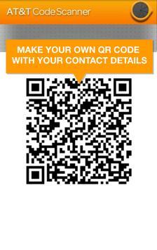AT&T Code Scanner: QR,UPC & DM apk screenshot