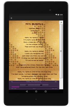 Matthew West Lyrics screenshot 2