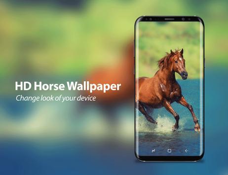 3D HD Live Horse Wallpaper poster