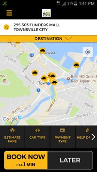 Townsville Taxis poster
