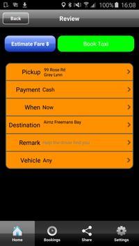 Alert Taxis Auckland screenshot 2