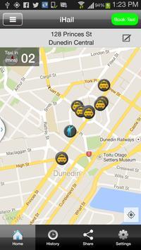 Dunedin Taxis poster