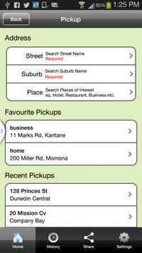 Dunedin Taxis apk screenshot
