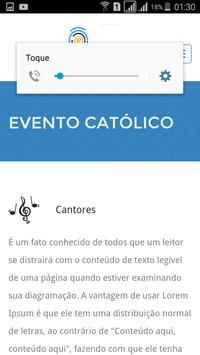 Evento Católico apk screenshot