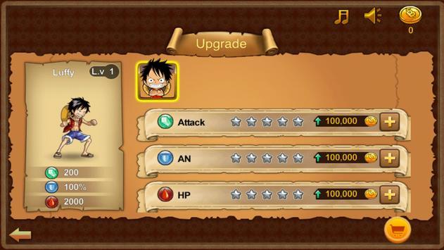 Pirate Luffy Fighter apk screenshot