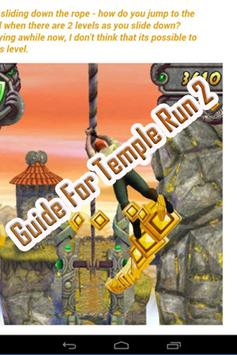 Guide Temple Run 2 screenshot 1