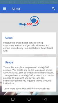 Mteja360 screenshot 3