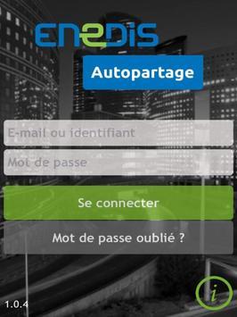 Enedis Autopartage poster
