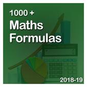 1000+ Maths Formulas icon