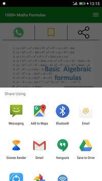 1000+ Maths Formulas screenshot 3