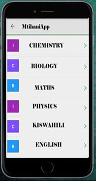 MtihaniApp screenshot 1
