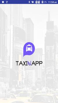 Taxinapp Driver poster