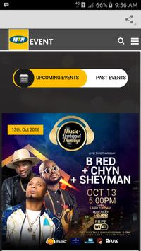 MTN Events apk screenshot