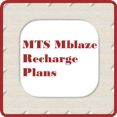 MTS Mblaze Recharge Plans New icon