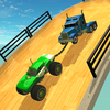 Double Impossible Mega Ramp 3D icono