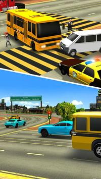 School Bus Driving 2017 apk screenshot