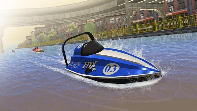 Speed Boat Racing الملصق