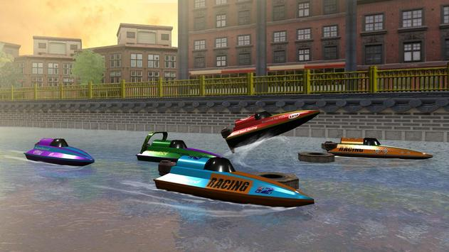 Speed Boat Racing تصوير الشاشة 11