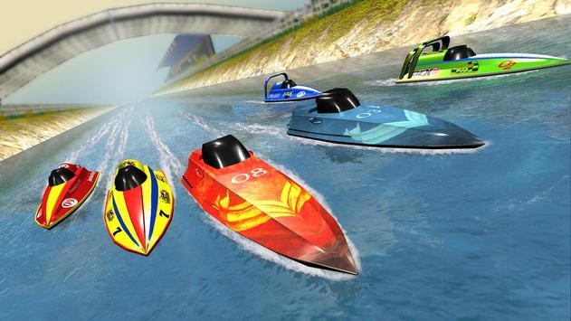 Speed Boat Racing تصوير الشاشة 4