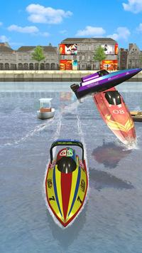 Speed Boat Racing تصوير الشاشة 6