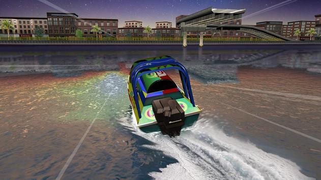 Speed Boat Racing تصوير الشاشة 7