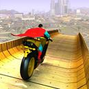 APK Super Hero Bike Mega Ramp