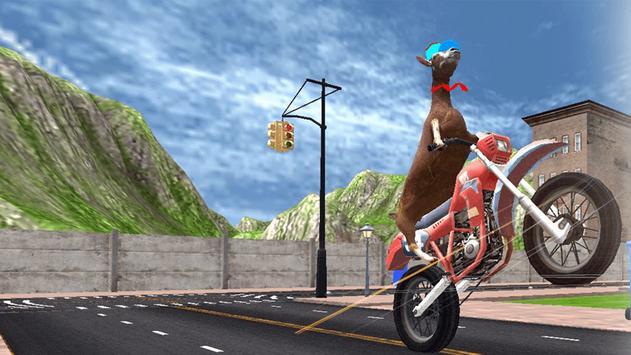 Goat Simulator Free poster