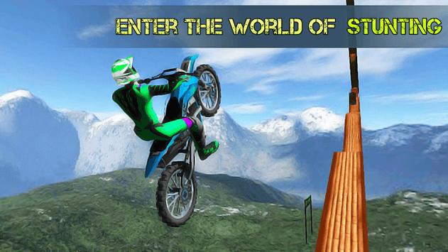 Stunt Bike Island poster