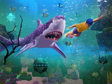Shark Simulator 3d Game poster