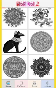 Mandala Color by Number-Pixel Art Coloring screenshot 5