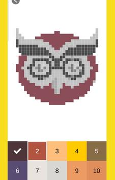 MTSI Color by Number: Coloring book - Pixel Art screenshot 1