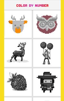 MTSI Color by Number: Coloring book - Pixel Art screenshot 2