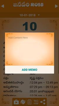 Telugu Calendar 2018 screenshot 3