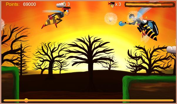 Justin the Bee - Super Runner screenshot 15