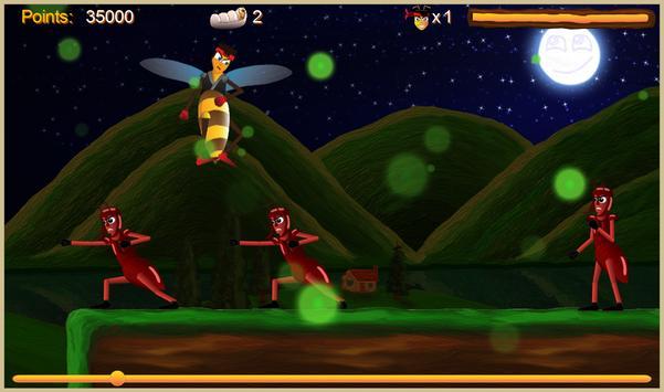 Justin the Bee - Super Runner screenshot 2