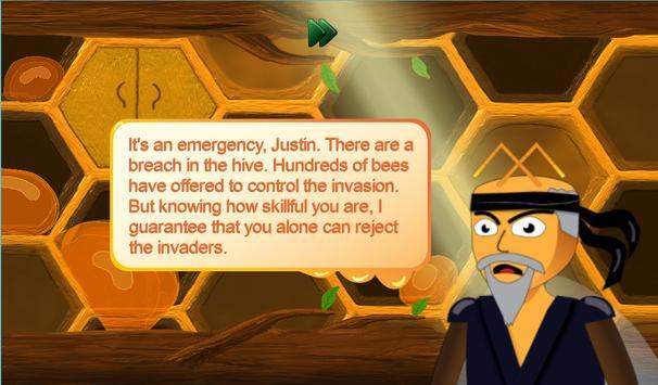 Justin the Bee - Super Runner screenshot 8