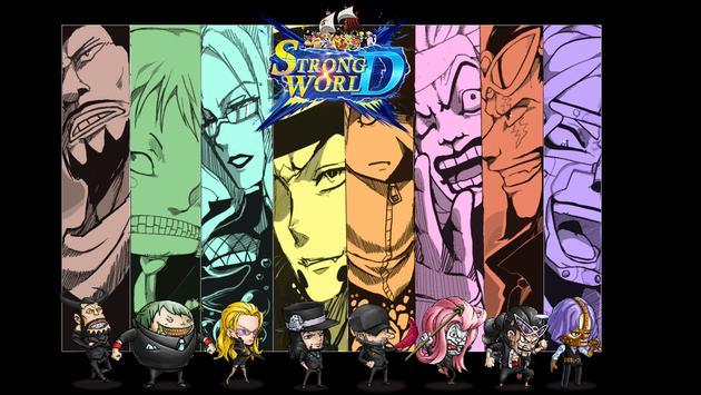 Strong World D.- The New Age apk screenshot