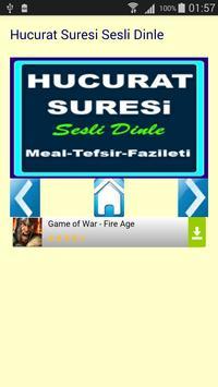 Hucurat Suresi apk screenshot