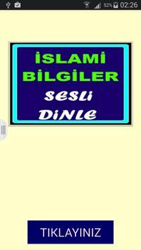 İslami Bilgiler Dini Bilgiler poster