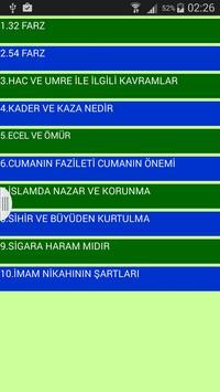 İslami Bilgiler Dini Bilgiler screenshot 1