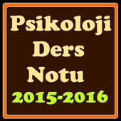 Psikoloji Ders Notu 2015 2016 icon