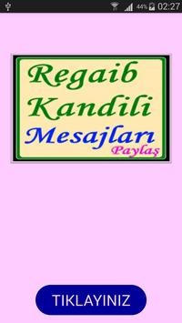 Regaib Kandili Mesajları poster
