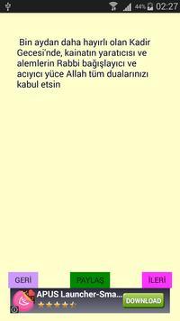 Regaib Kandili Mesajları apk screenshot
