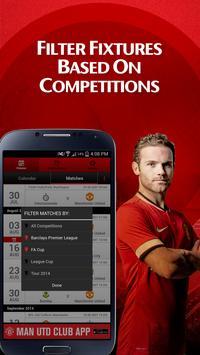 Man Utd Fixtures Calendar screenshot 7