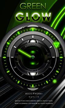 Magic Analog Clock LWP poster