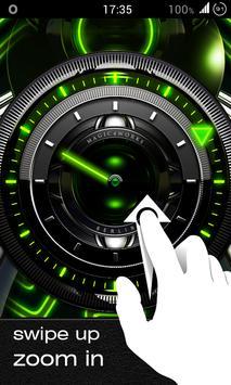 Magic Analog Clock LWP screenshot 2