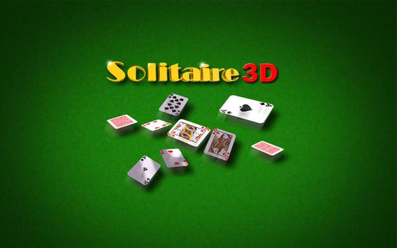 Solitaire 3D poster