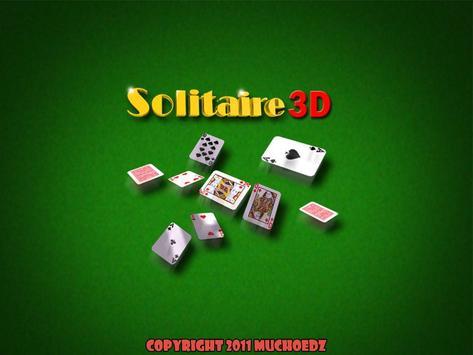 Solitaire 3D apk screenshot