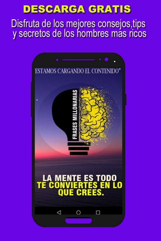 Frases Millonarias для андроид скачать Apk